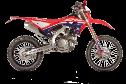 Honda Red Moto CRF 450RX Enduro 2022