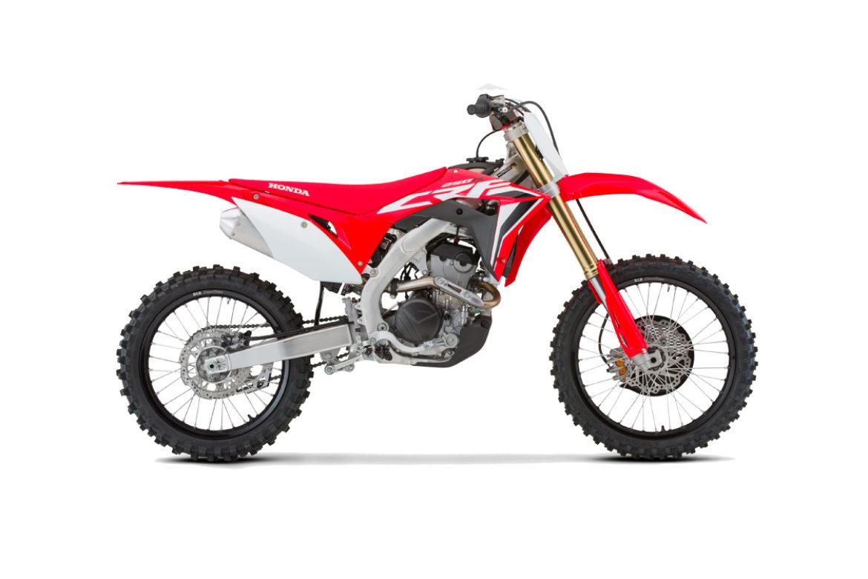 Honda Red Moto CRF 250R 2021