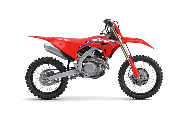 Honda Red Moto CRF 450R 2021