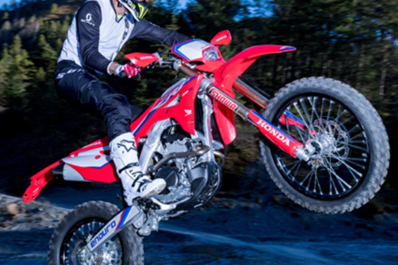 Honda Red Moto CRF 250RX Enduro 2021