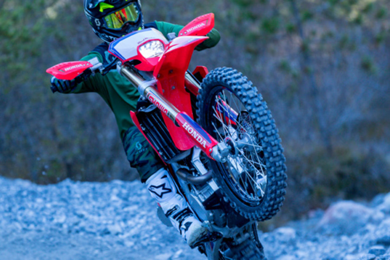 Honda Red Moto CRF 400RX Enduro 2021