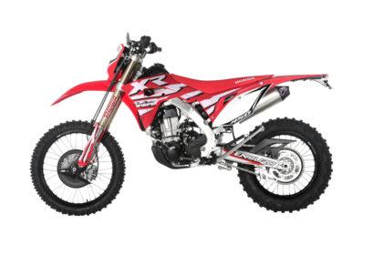 Honda Red Moto CRF 450XR Dual