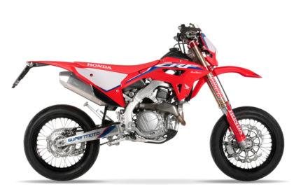 Honda Red Moto CRF 450 RX Supermoto 2021