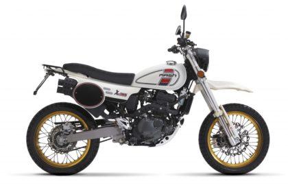 MASH XRIDE White 125cc