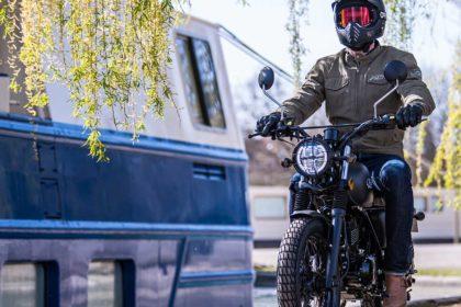 MASH SEVENTY Black Matt 125cc
