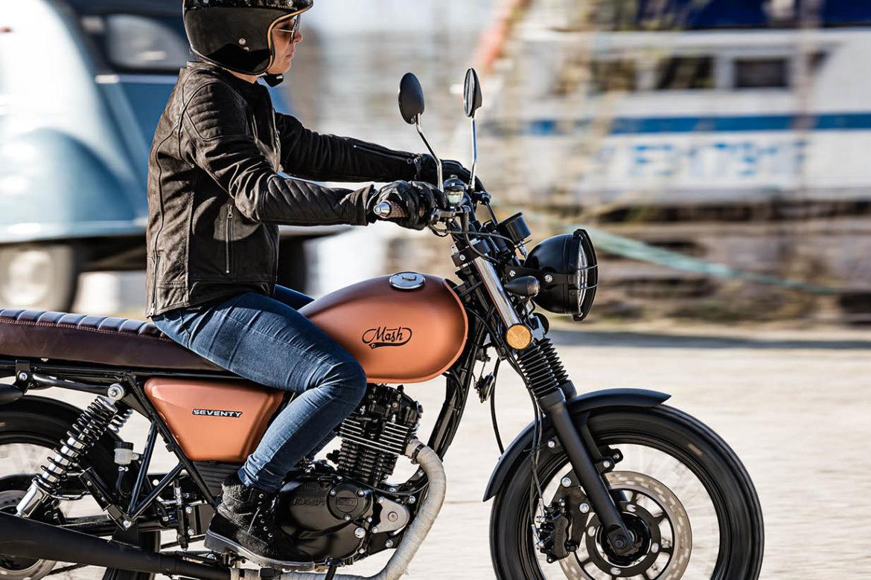 MASH SEVENTY Copper 125cc